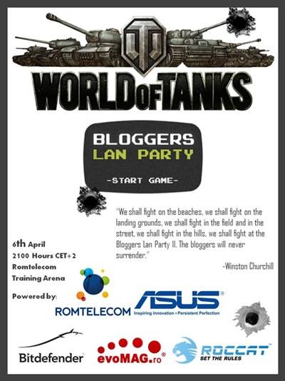 World of Tanks Lan Party