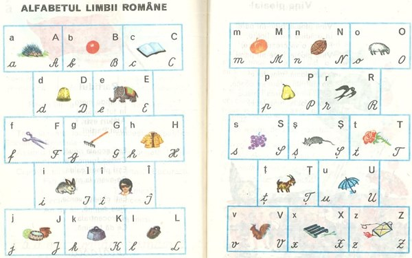 Abecedar: Alfabetul limbii române