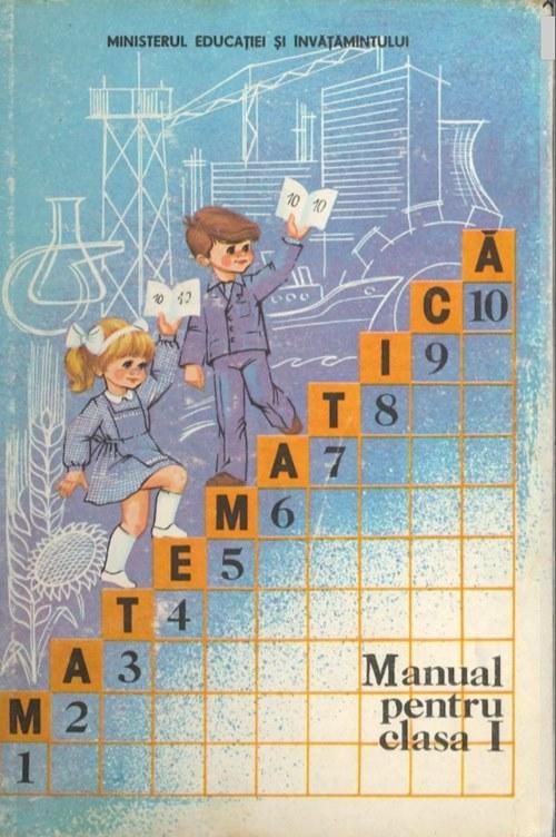 Matematică - Manual pentru clasa I