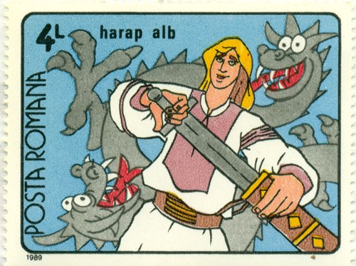 Timbru: Harap Alb