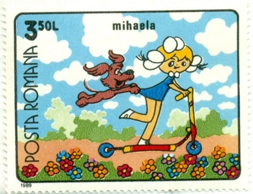 Timbru: Mihaela