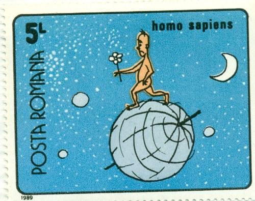 Timbru: Homo Sapiens