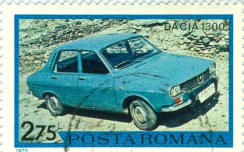 Timbru: Dacia 1300