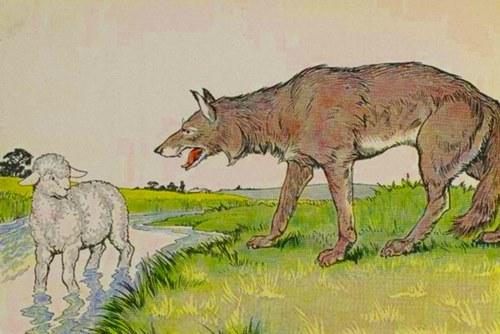 Lupul şi mielul (fabulă)
