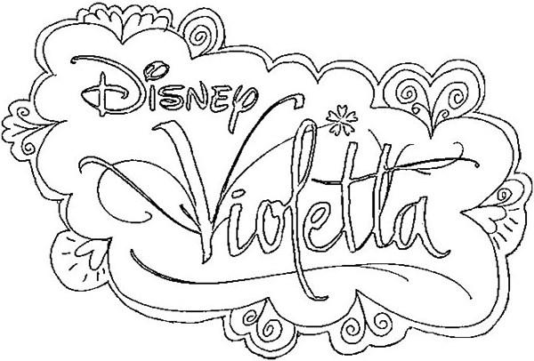 2 Planşe De Colorat Cu Violetta Jocuri Din Copilarie