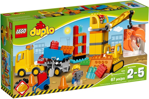 LEGO DUPLO 10813 - Big Construction Site