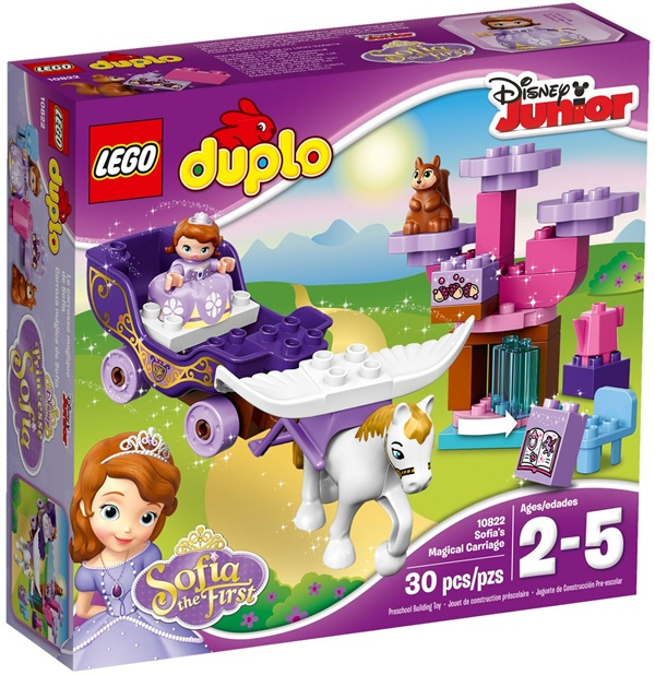 LEGO DUPLO 10822 - Sofia the First Magical Carriage