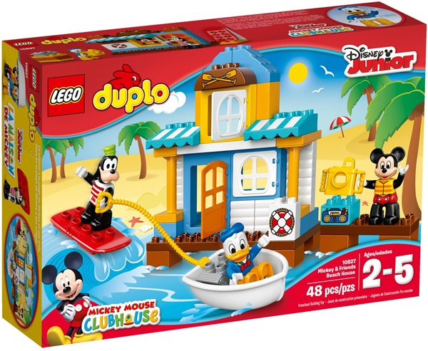 LEGO DUPLO 10827 - Mickey & Friends Beach House